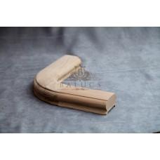 Поворот поручня 45*70 – 90 градусов с поручнем длиной 150 мм